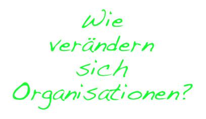 Teil 4 zu Organisation