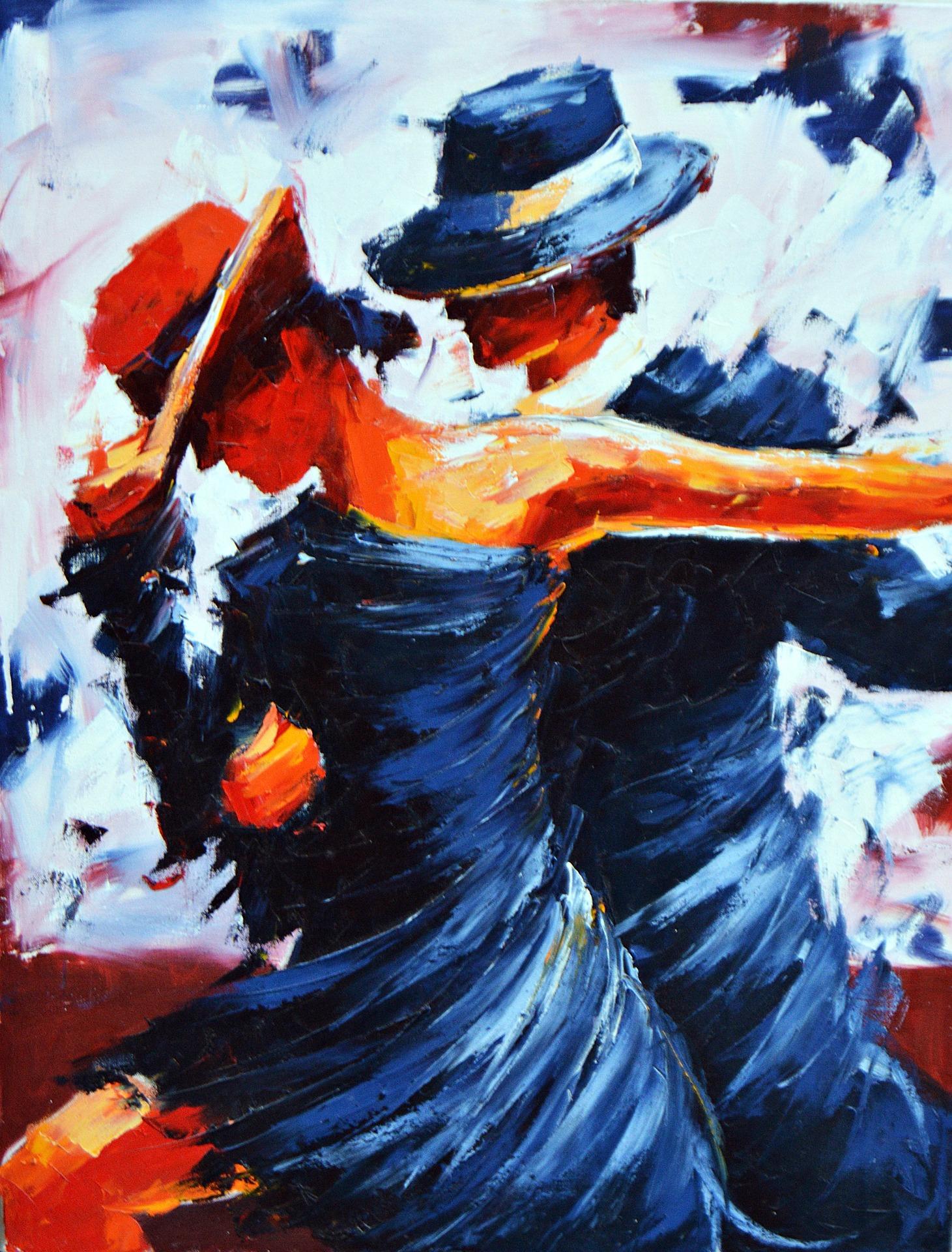 Führung und Tango